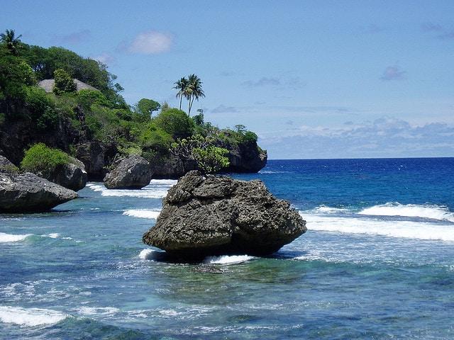 isola di natale spiagge