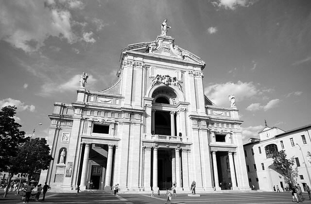 piazze di italia santa maria degli angeli