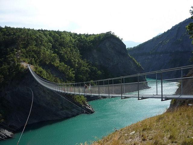ponti sospesi drac bridge