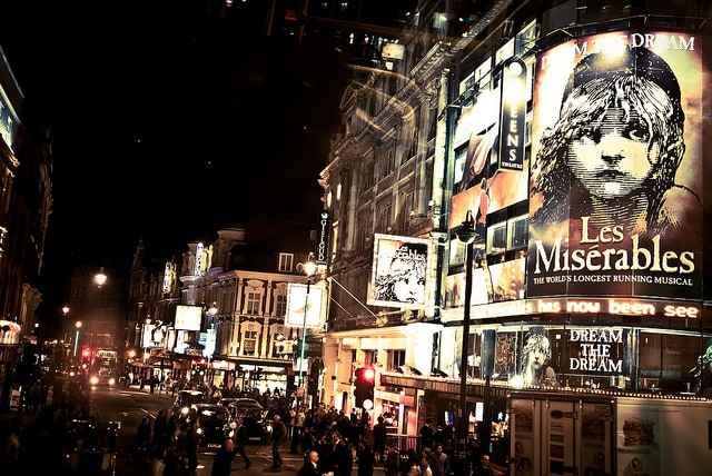 Il West End a Londra