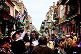 Mardi Gras, New Orleans celebra il suo Carnevale