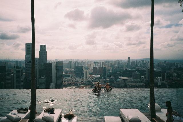 Piscina più alta del mondo