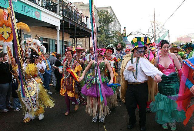 Sfilata di Mardi Gras a New Orleans