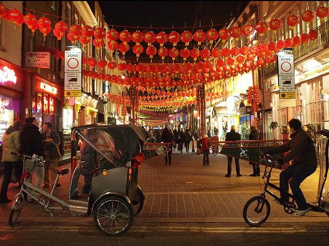 festeggiamenti per il capodanno cinese