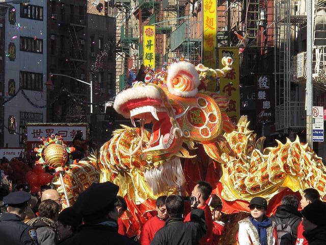 sfilata per il capodanno cinese a new york