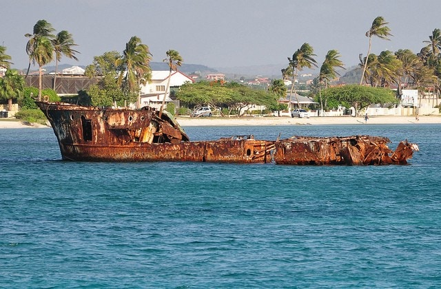 Relitto di Malmok Beach ad Aruba