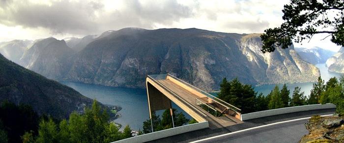 Aurland Lookout, Norvegia