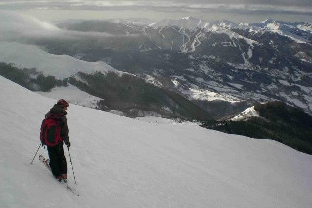 Sciare sull'Appennino tosco-emiliano