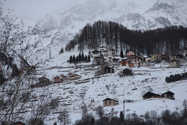 Neve a Pejo