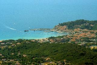 Un tuffo nel mare dell'Isola d'Elba
