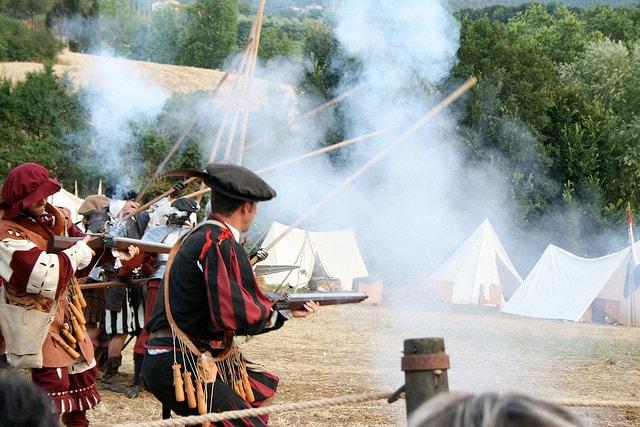 Monteriggioni battaglia medievale