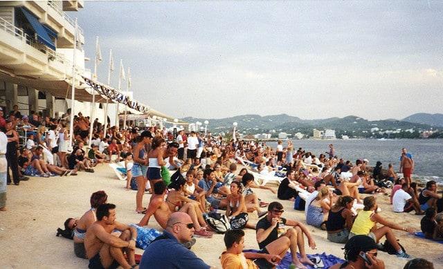 Café del Mar a Ibiza