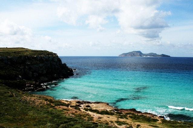 Isola di Favignana nelle Egadi