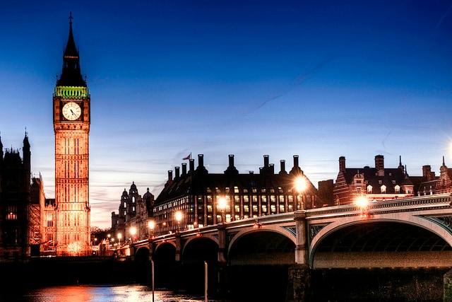 Londra e il Tamigi