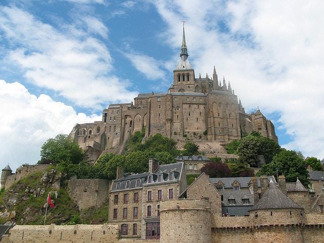 Mont Saint-Michel, abbazia