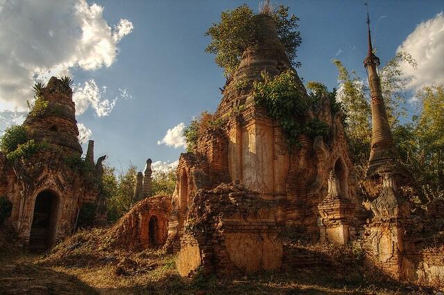 Pagode in Birmania
