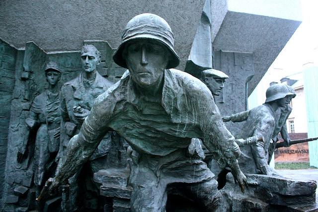 Varsavia, Monumento all'Insurrezione