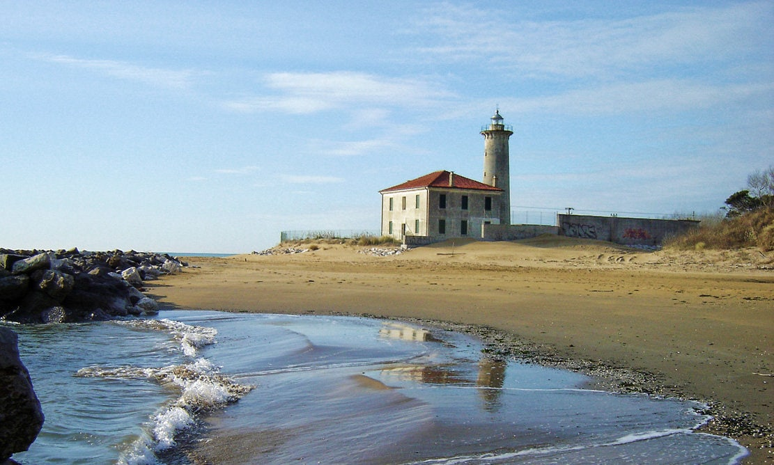Bibione, spiaggia del faro