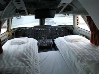 Gli aereo hotel, strani alloggi su velivoli per vacanze alternative