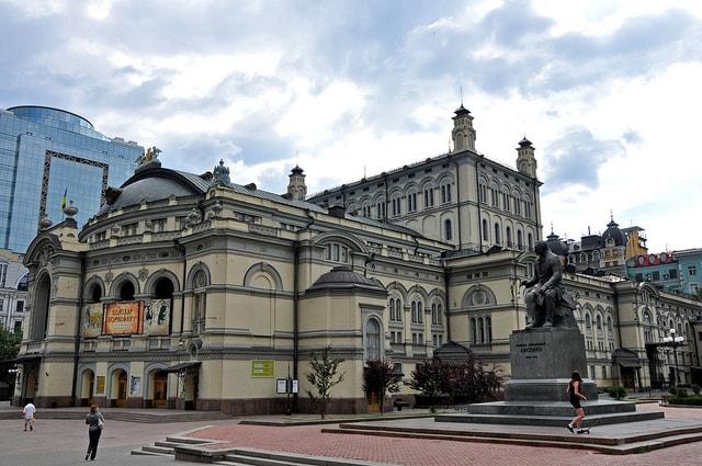 Kiev, Opera Theatre
