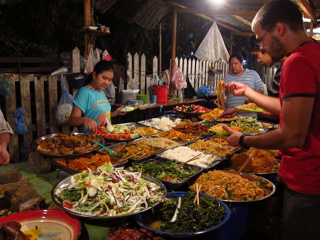 cucina asiatica Luang Prabang