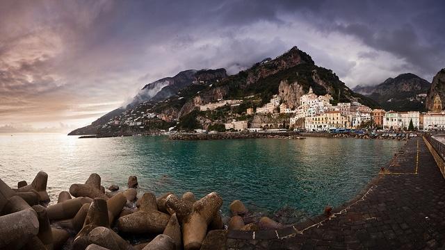 Amalfi, panorama