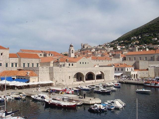 Dubrovnik, porto