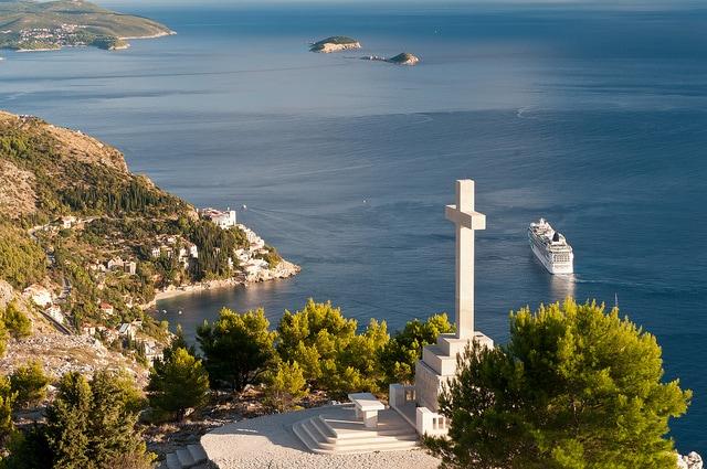 Dubrovnik, ristorante panoramico