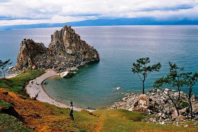 L'isola di Olkhon sul lago Baikal