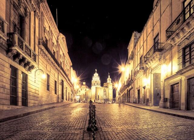 Guanajuato, strade