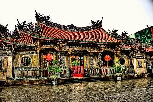 Taiwan, templi