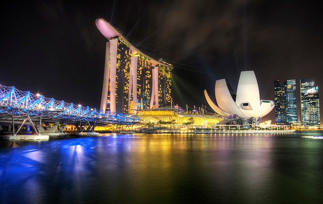Giro del mondo, Singapore