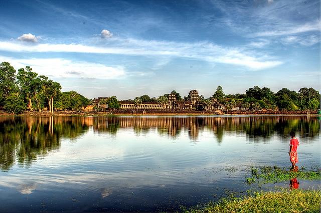 Cambogia, fiume