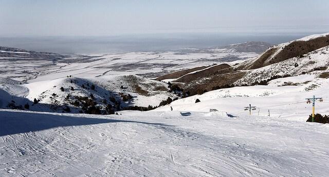 Sciare in Kirghizistan