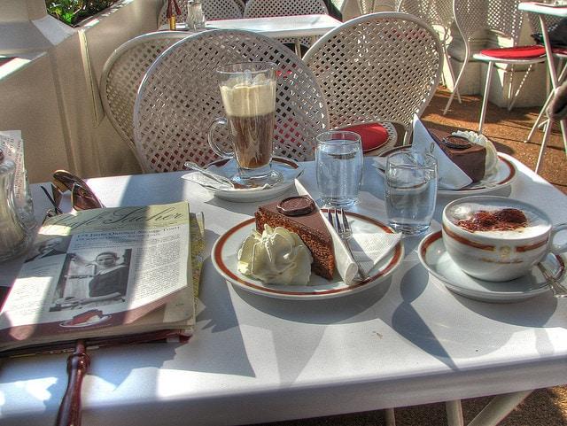 Vienna, Sachertorte e Kaffeehause
