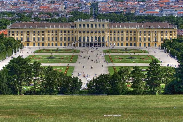 Vienna, castello di Schönbrunn