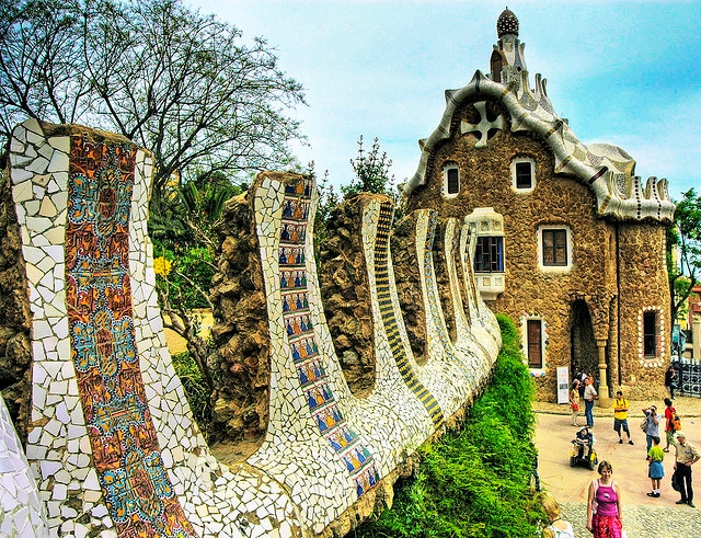 Barcellona, Park Guell