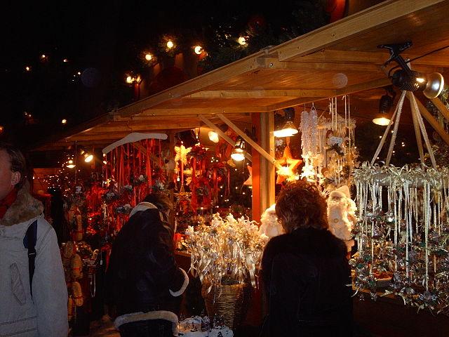 Bolzano, mercatini natalizi di sera