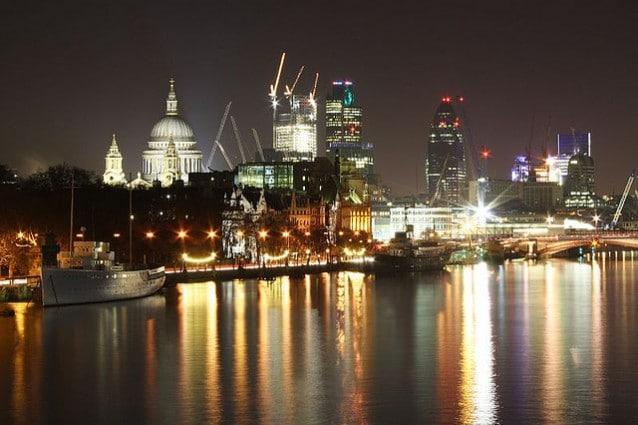 Il centro di Londra