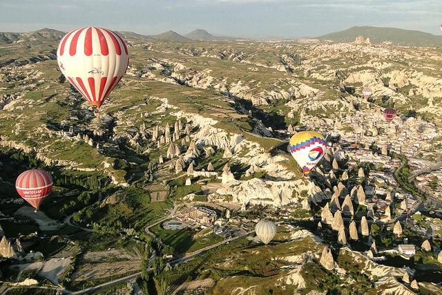 Giro sulla Cappadocia in mongolfiera
