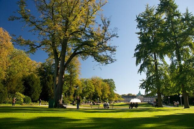 Kurpark a Bad Oeynhausen