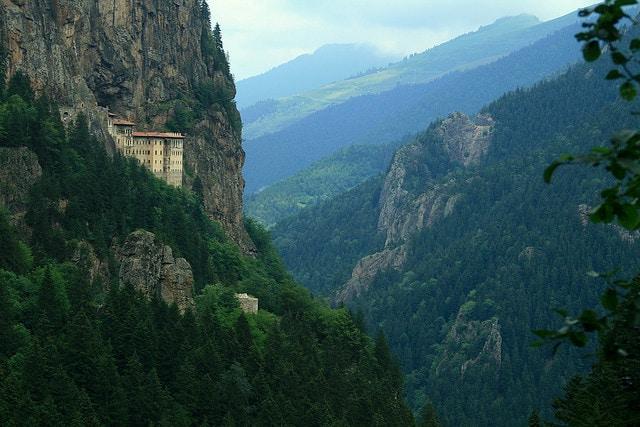 Monastero di Sümela, Turchia