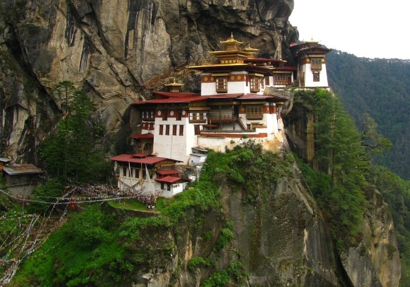 Monastero di Taktsang, Buthan