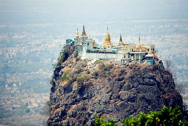 Monastero di Taungkalat, Birmania