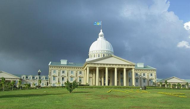 Palau, palazzo capitolino di Ngerulmud
