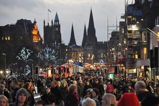 Festa dell'Hogmanay ad Edimburgo per Capodanno
