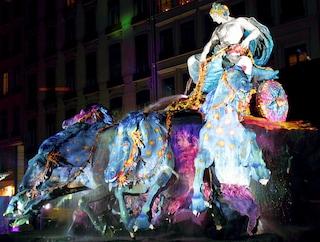 La Festa delle luci a Lione per il ponte dell'Immacolata