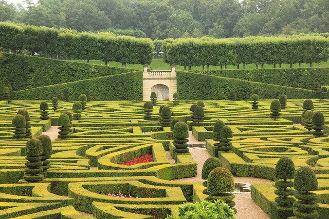 giardino castello villardy