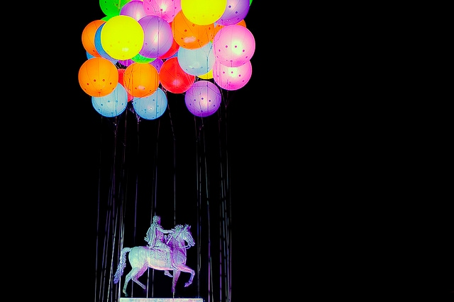 lione festa della luce