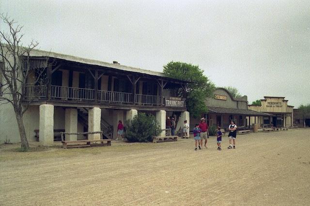 Alamo Village, attrazione turistica del Texas